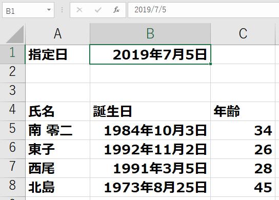1984 年 生まれ 年齢