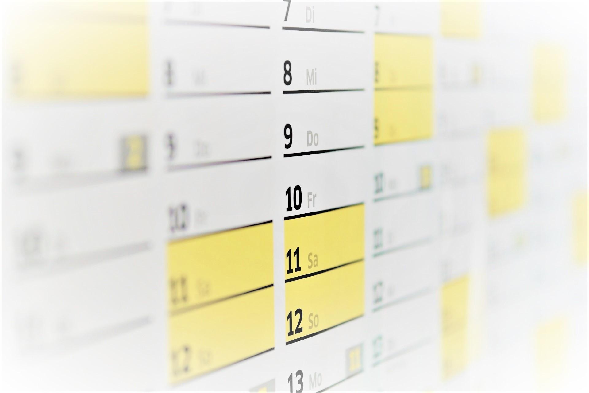 【シフト表作り】月日の入力を完全自動化しよう